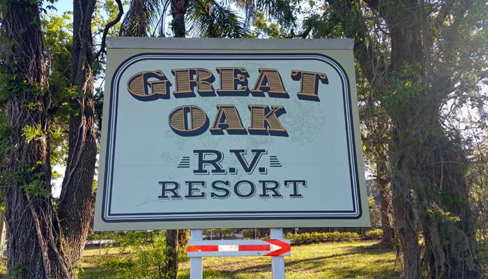 Welcome To Great Oak RV Resort